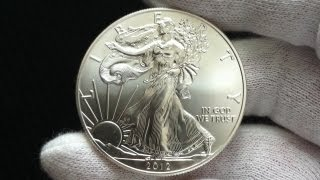 [ HD ] American Silver Eagle (2012) - VS - Dime