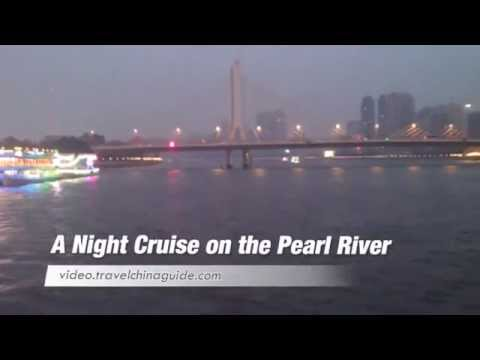 A Night Cruise on the Pearl River