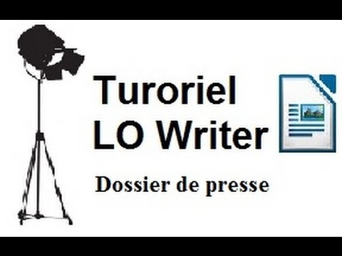 Dossier de presse n°1 - Structure avec Libre Office Writer - Les styles de pages