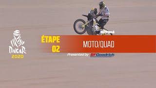 Dakar 2020 - Étape 2 (Al Wajh / Neom) - Résumé Moto/Quad