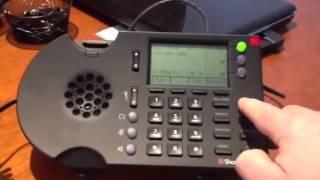 ShoreTel Tutorial - Put Callers into Voicemail