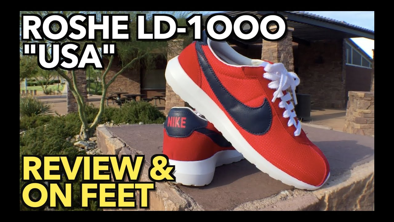 watch 840a8 14386 Roshe LD-1000 Review   On Feet