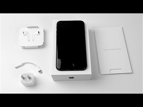 iPhone 7 Unboxing: Matte Black!