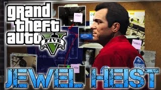 Grand Theft Auto V | JEWELLERY STORE HEIST | PS3 HD Gameplay