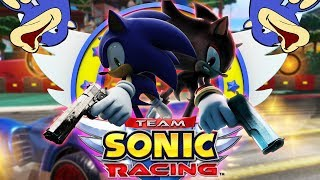 Racers in Crime The Best of the Worst Team Sonic Racing w CrazyMtch42