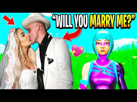 I FINALLY Asked My Fortnite Girlfriend To MARRY ME!