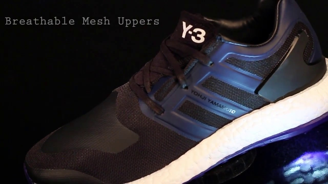c60d6f83c17 Y3 Pure Boost Review By Aphrodite Clothing - YouTube