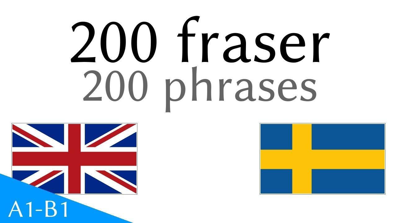 200 fraser - Engelska - Svenska