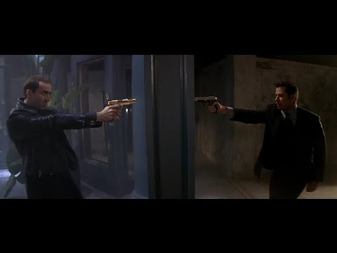 Face/Off (1997) - BADASS Penthouse Shootout Scene [HD]