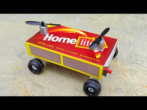 How To Make Helicopter Car At Home For Kids