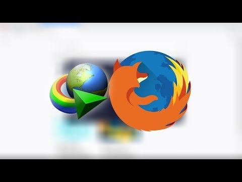 Integrate Internet Download Manager (IDM) with Firefox 51.0.1 or earlier 2017