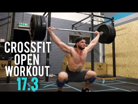 CROSSFIT OPEN WORKOUT 17.3 - I DIDN'T EXPECT THIS