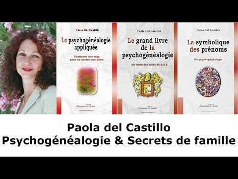 Paola del Castillo - Psychogénéalogie & Secrets de famille