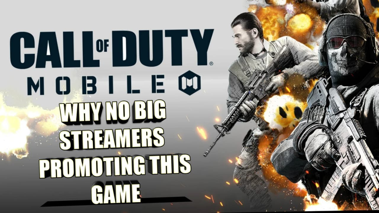 Why No Big Streamers Promoting COD Mobile #CODMOBILE #Mortal #Scout