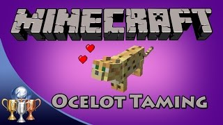 Minecraft [PS4] Lion Tamer Trophy / Achievement Guide (Tame an Ocelot)