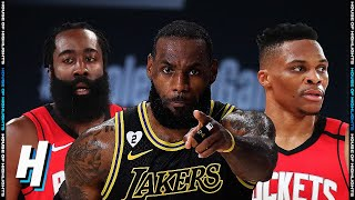 Houston Rockets vs Los Angeles Lakers - Full Game 2 Highlights | September 6, 2020 NBA Playoffs