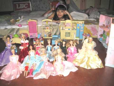 ARMELIA ROSE VALDOMAR SANTOS' BARBIE DOLL COLLECTIONS & BARBIE HOUSE