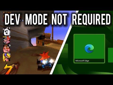Эмуляторы PlayStation, Nintendo 64, SEGA и других платформ работают в новом браузере Xbox