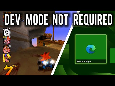 Running Emulators with the Edge Browser on the XBOX Series S | MVG