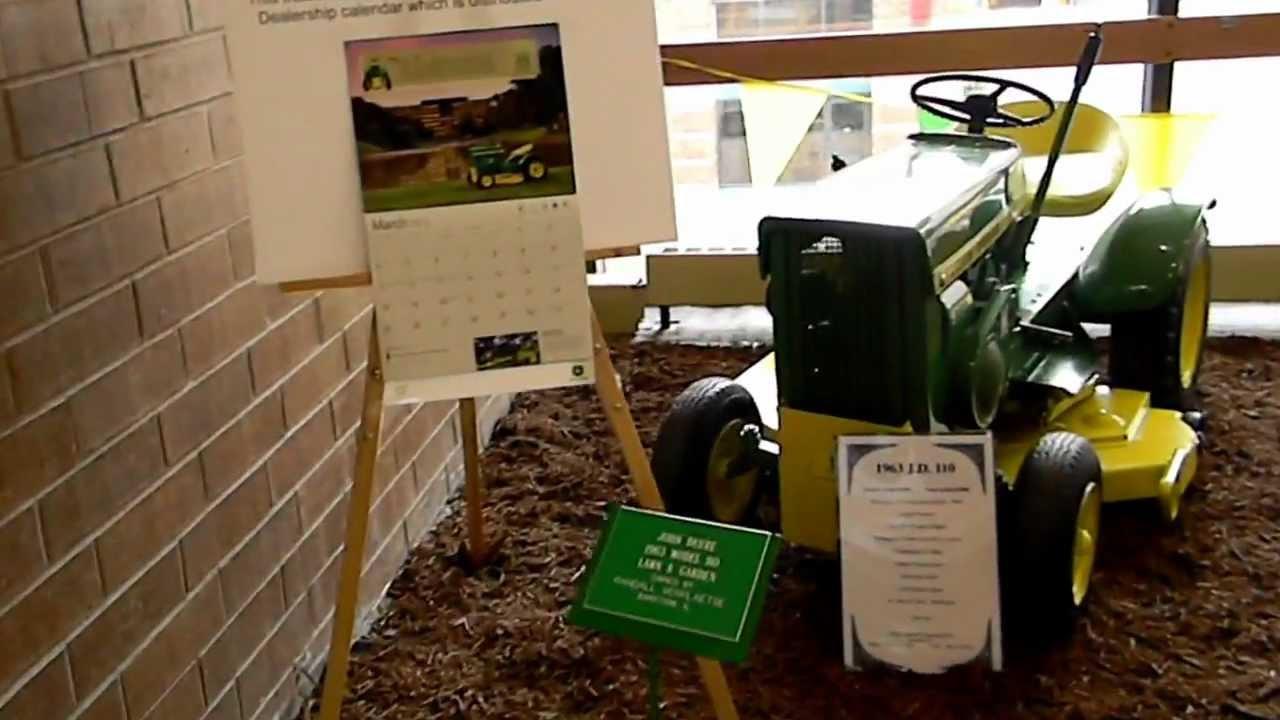 John Deere Lawn and Garden Tractors - YouTube