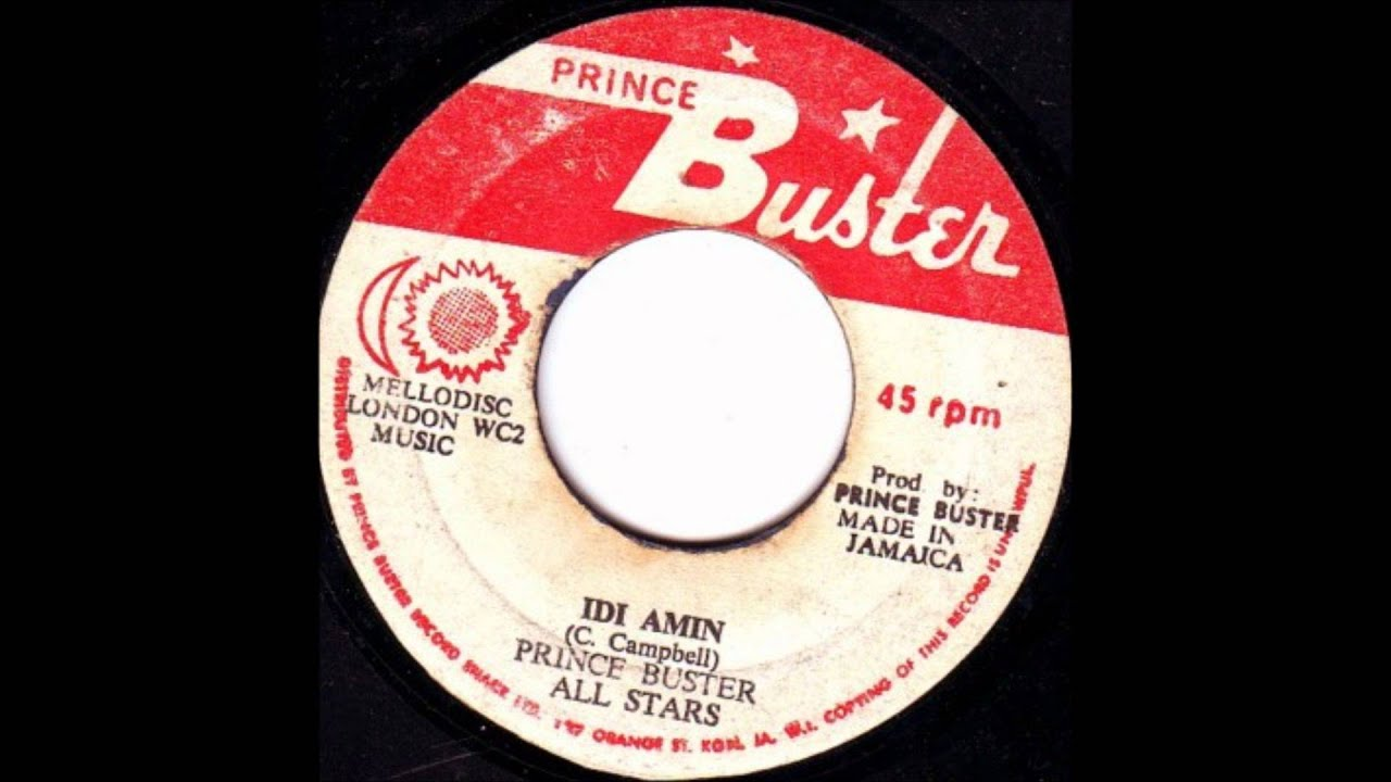 Prince Buster All Stars Its Burkes Law