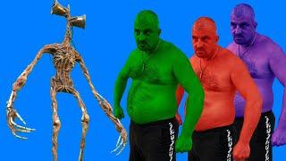 Team Hulk VS Siren Head