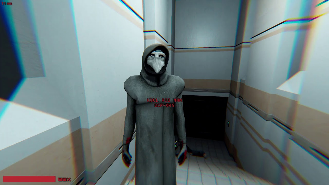 SCP:Secret Laboratory Playing as a SCP!