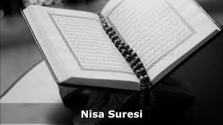 ☑️  Nisa Suresi Türkçe Meali 1080p ᴴᴰ - dinle 🔊 (HD)