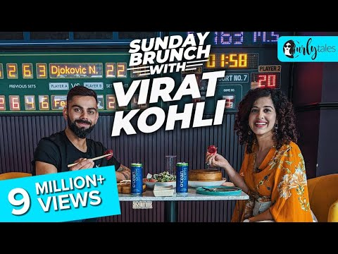 Sunday Brunch With Virat Kohli X Kamiya Jani | Curly Tales