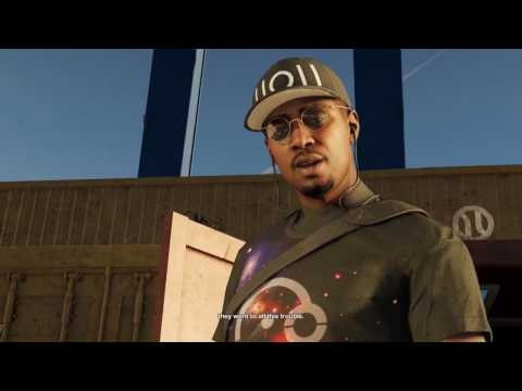 #WatchDogs2 #1080p #PS4pro tracking & infiltrating an offsho