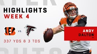 Andy Dalton Tallies Up 337 Yds & 3 TDs in Big Road Win