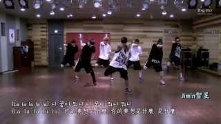 防彈少年團(BTS)-No More Dream Dance Practice 認人中字