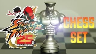 STREET FIGHTER CHESS SET UNBOXING