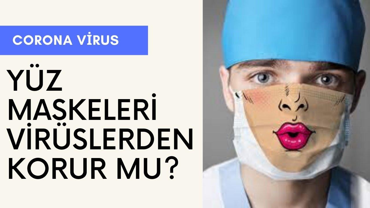 Yüz Maskesi Virüslerden korur mu? Sağlık Videoları, Sağlık Haberleri