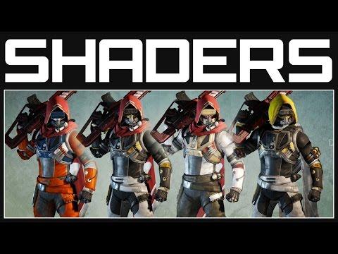 Destiny Shaders - Everything We Have | Destiny Gameplay