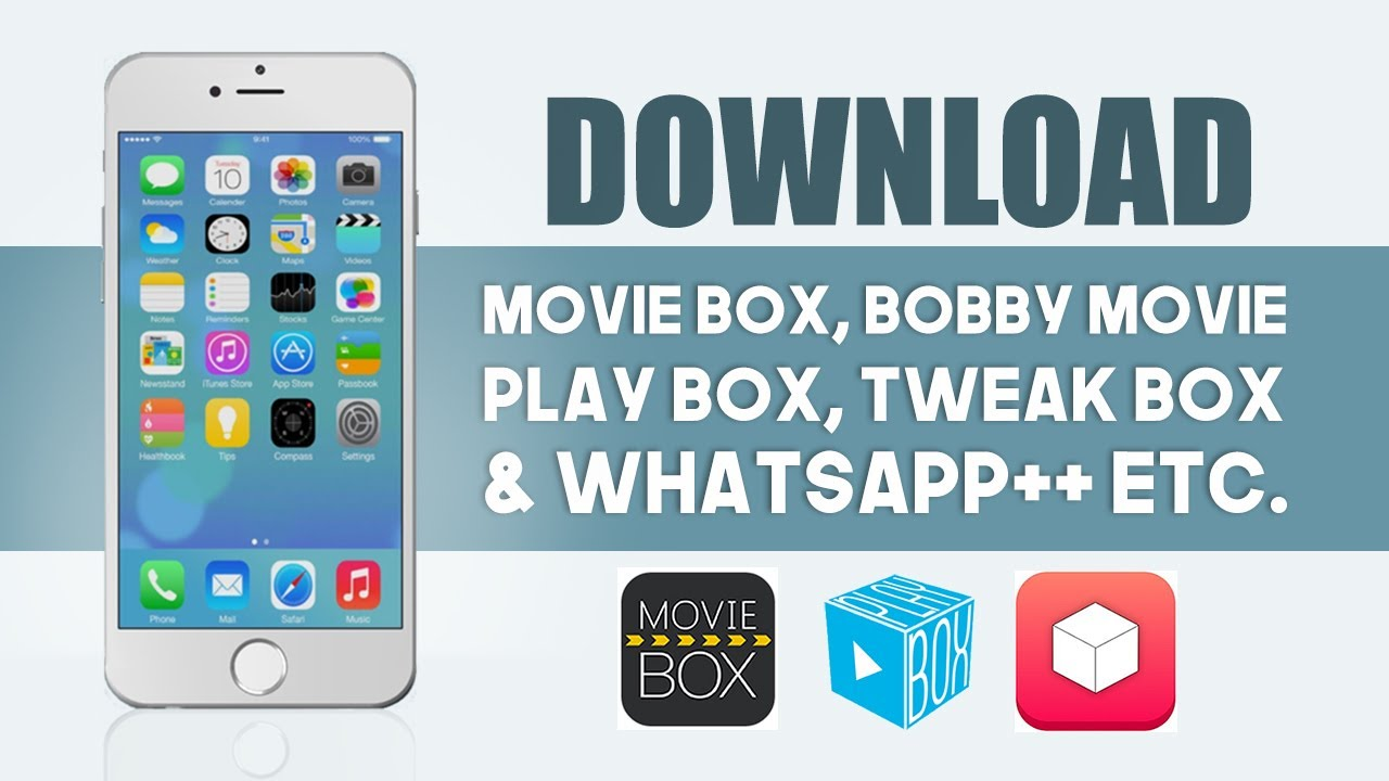 Movie box download install for iphone, ipad, ipod touch moviebox app.