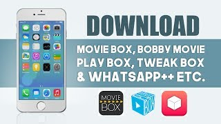 How To Download Movie Box/Bobby Movie on iOS  (No Jailbreak / No Computer) iPhone, iPod touch & iPad