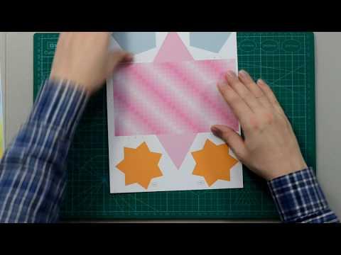 Regular Triangular Prism DIY, Видеоинструкция: как сделать правильную треугольную призму