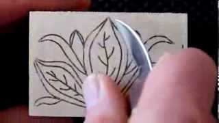 183 My Chip Carving - Single Tea Light