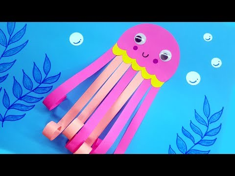 Jellyfish Craft - DIY Paper Craft