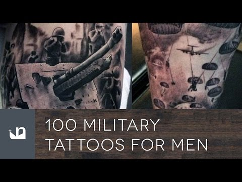 100 Military Tattoos For Men