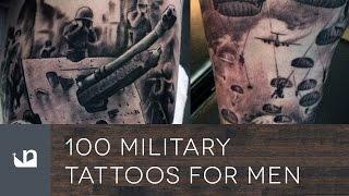 100 Military Tattoos For Men