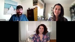 """Victim No. 6"" Fantasia Interview    Nancy Menagh, Heather Brittain O'Scanlon   Filmcraziest Show"