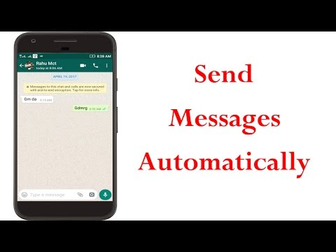 How To Auto Reply Whatsapp Messages In Android||Without Root