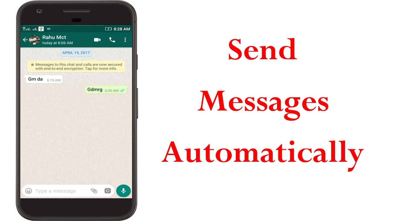 How To Auto Reply Whatsapp Messages In Android