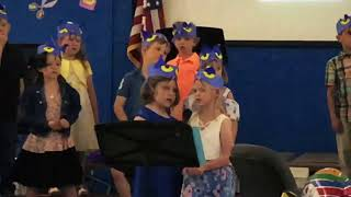 Mya's Kindergarten Graduation - Pete The Cat Concert
