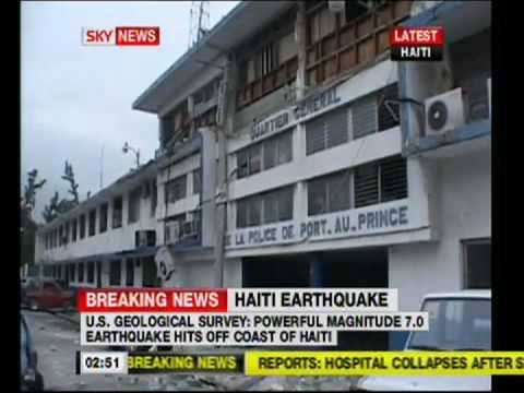 HAITI EARTHQUAKE (SHOCKING LIVE FOOTAGE!)