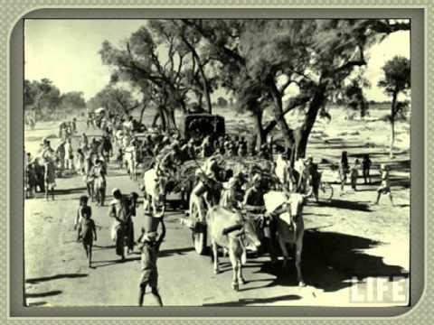 Migration on India-Pakistan Partition of Punjab - YouTube