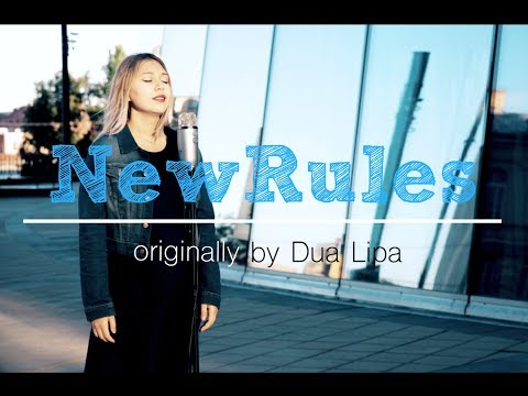 Dua Lipa - New Rules (piano version, cover by AliveTeen)