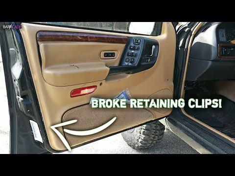 Loose Door Panel Fix 1993 98 Jeep Grand Cherokee Youtube